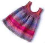 Красиве в'язане плаття для дівчинки 1 року