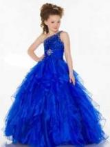 Синє плаття для дівчинки: моделі для різних випадків
