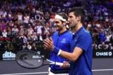 Джокович підстрелив Федерера під час парного матчу