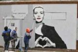 В Петербурге появилось граффити с Марией Колесниковой — его закрасили