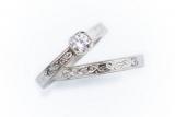 Обручки з алмазною огранюванням: сяйво вічного кохання