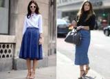 Спідниці для невисоких жінок: вибір фасону з урахуванням особливостей фігури, ефектні моделі одягу, забарвлення і приклади з фото