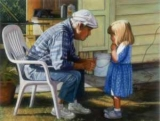 Привітання внучці з годиком від бабусі і дідуся. Привітання онукові
