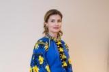 Марина Порошенко в елегантному образі зустрілася з Бріжіт Макрон в США