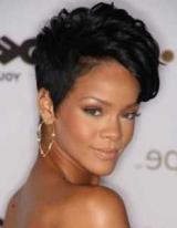 Чорні короткі волосся: варіанти зачісок і стрижок, поради по підбору, фото